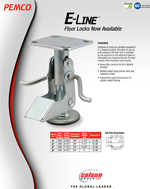 E-Line Floor Locks