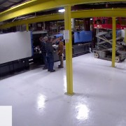 Monette Injection Molding Machines Installation
